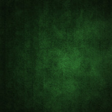 Grunge Green Background With A...