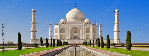 Spoed Foto op Canvas India Taj Mahal, Agra