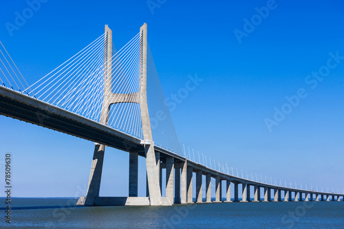 Poster Bruggen Vasco da Gama Bridge