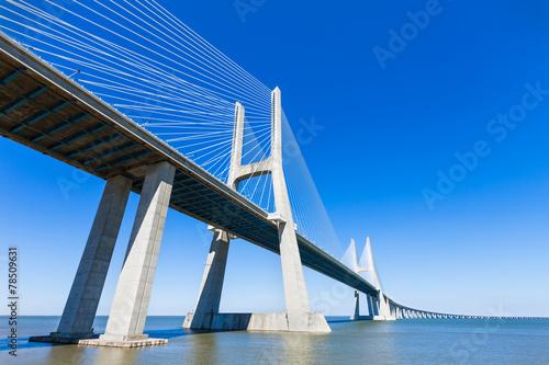 Keuken foto achterwand Bruggen Vasco da Gama Bridge