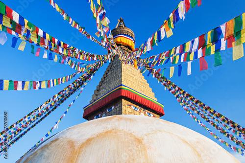 Fotografie, Obraz  Boudhanath stupa, Kathmandu