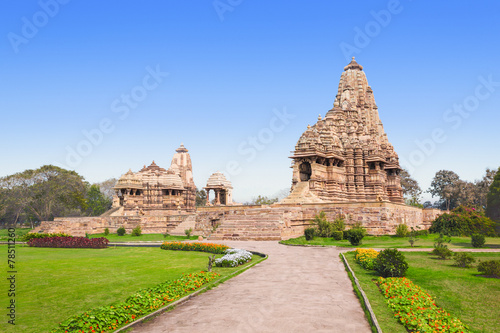 Staande foto India Khajuraho Temple