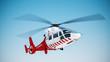 Leinwandbild Motiv Rescue helicopter