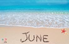 June On A Tropical Beach