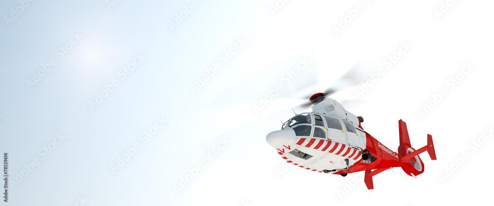 Leinwandbild Motiv - jules : Helicopter