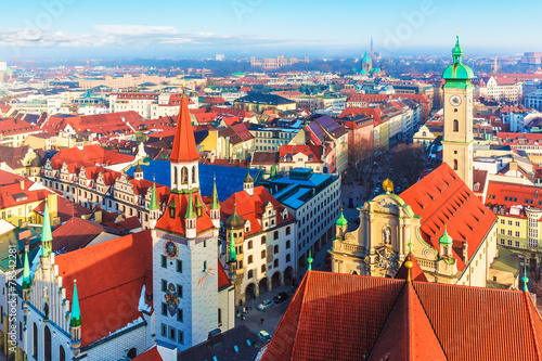 Naklejka premium Monachium, Niemcy