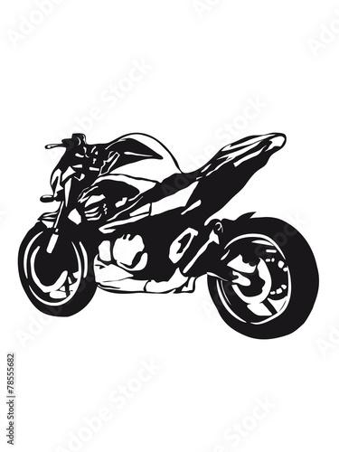 Poster Motorcycle motorcycle Naked Bike