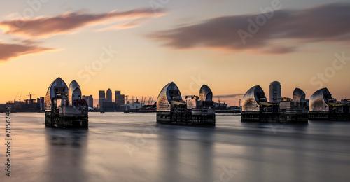 Fotografie, Obraz  Thames Barrier