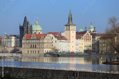 View on Prague Old Town, Czech Republic © Kajano