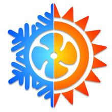 Logo Ventilation Climatisation Chaud Froid