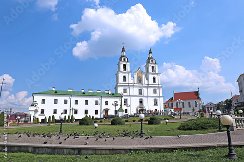 Foto op Plexiglas Kiev Holy Spirit Cathedral in Minsk