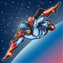Blue Mask Hero 2