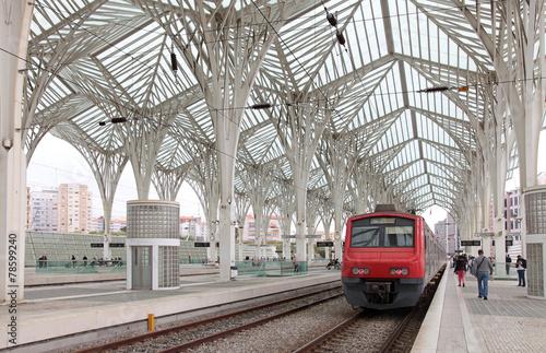 Fotografie, Obraz  lisboa estación tren 9199-f15