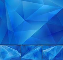 Geometric Blue All