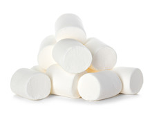 Marshmallow Isolated On White ...