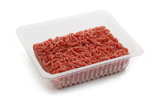 Heap Beef Minced Meat In Plastic Cup