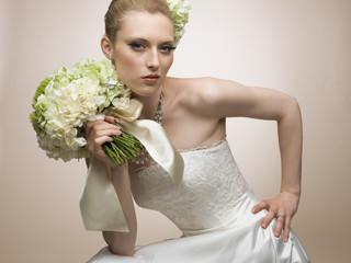 Naklejka Bride of ideal
