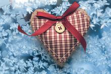 Valentine Checked Heart