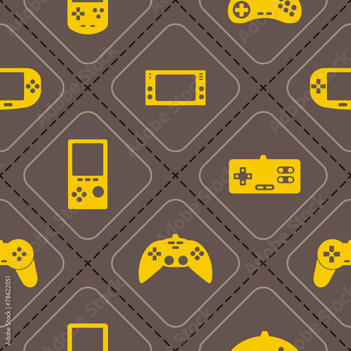 seamless-background-with-game-consoles-for