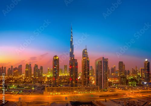 Dubai Skyline #78623472