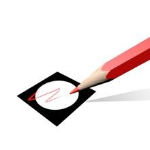 Stemmen Met Het Rode Potlood