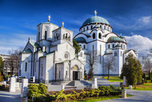 St. Sava Cathedral In Belgrade...
