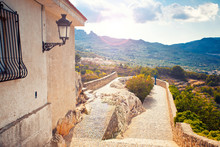 Viewpoint In Guadalest, Spain