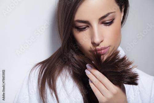 Fotografie, Obraz  Vlasy krása
