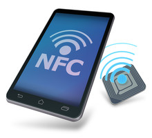 Mobile Device Communicating With A Nfc Tag