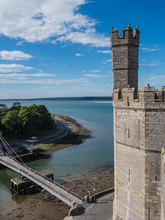 View From Caernarfon Castle On...