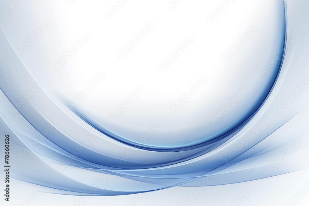 Fototapeta Elegant Blue Waves