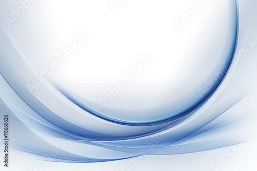 Elegant Blue Waves