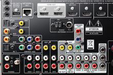 Connectors Panel Of Audio Surr...