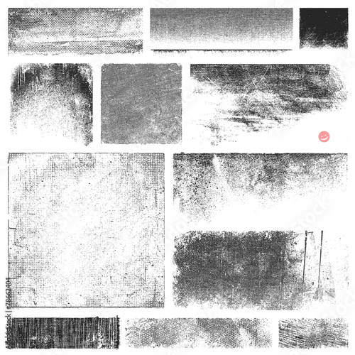 Obraz Dirty Vector Textures - fototapety do salonu