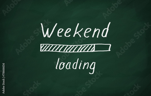 Fotomural Loading weekend