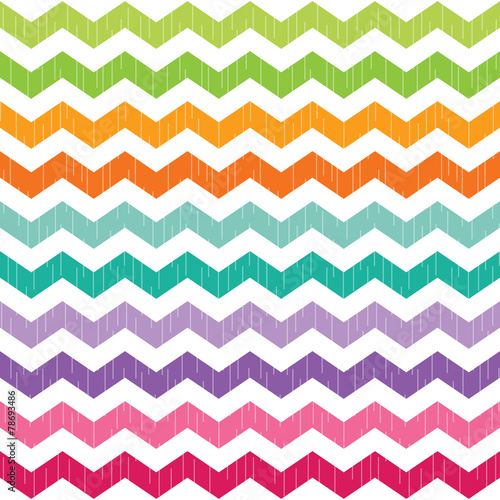 bright colorful seamless chevron pattern