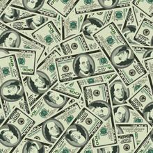 Money Seamless  Background Texture Pattern Dollar Banknotes