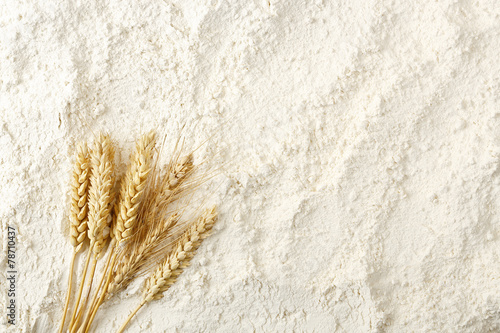 flour background Fototapeta