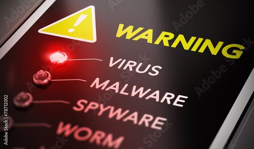Fotografía  Virus Alert
