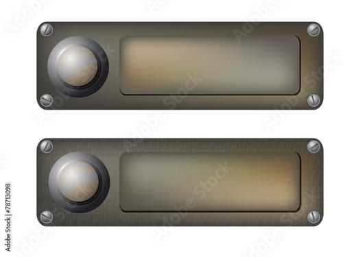 фотографія  vector doorbells