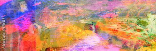 Fototapeta Abstract On Canvas obraz