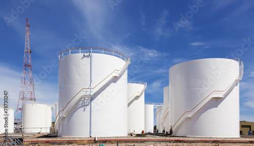 Photo Fuel storage tank