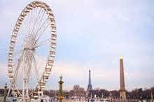 Paris Ferries Wheel