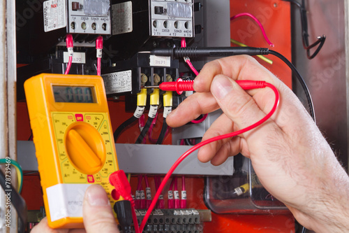 Fotografie, Obraz  electrician