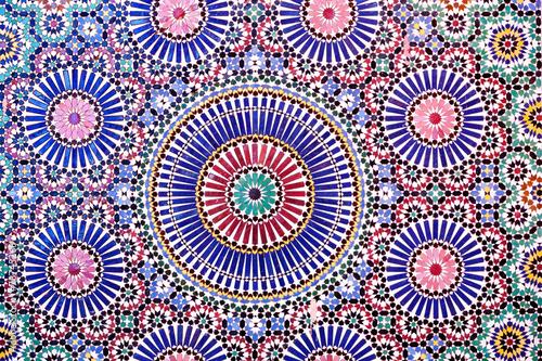 Arab mosaic in Marrakech