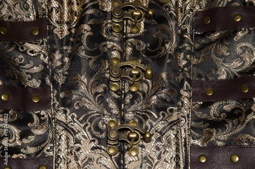 Chiusura del corsetto Canvas Print