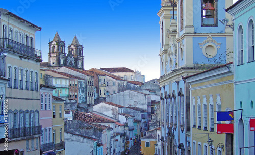 Fotografie, Obraz  Brésil, Salvador de Bahia le Pelourinho
