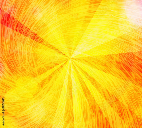 Fototapety, obrazy: sunshine sun rays with whirl bubbles backgrounds