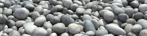 Hintergrund als Panorama aus vielen Steinen #78770653