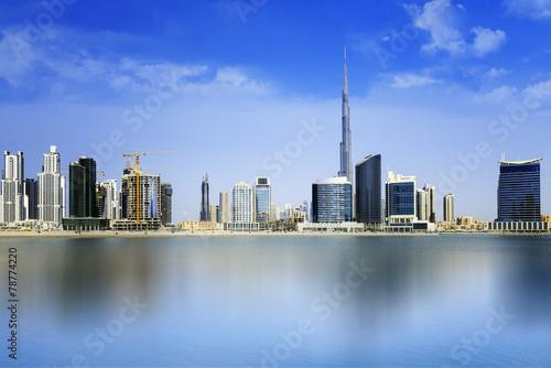 Tuinposter Dubai Dubai Downtown